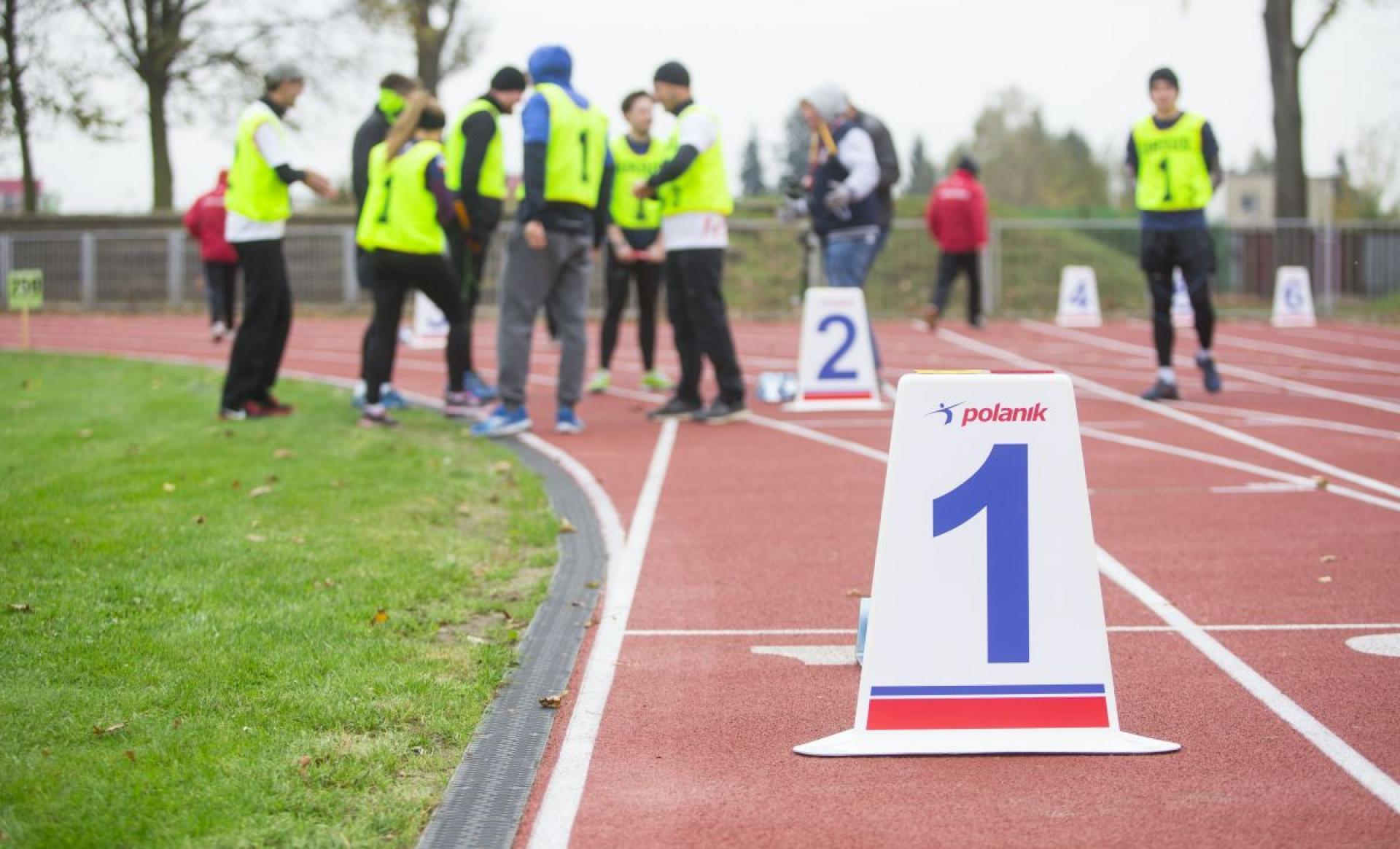 Bieżnia lekkoatletyczna zawody