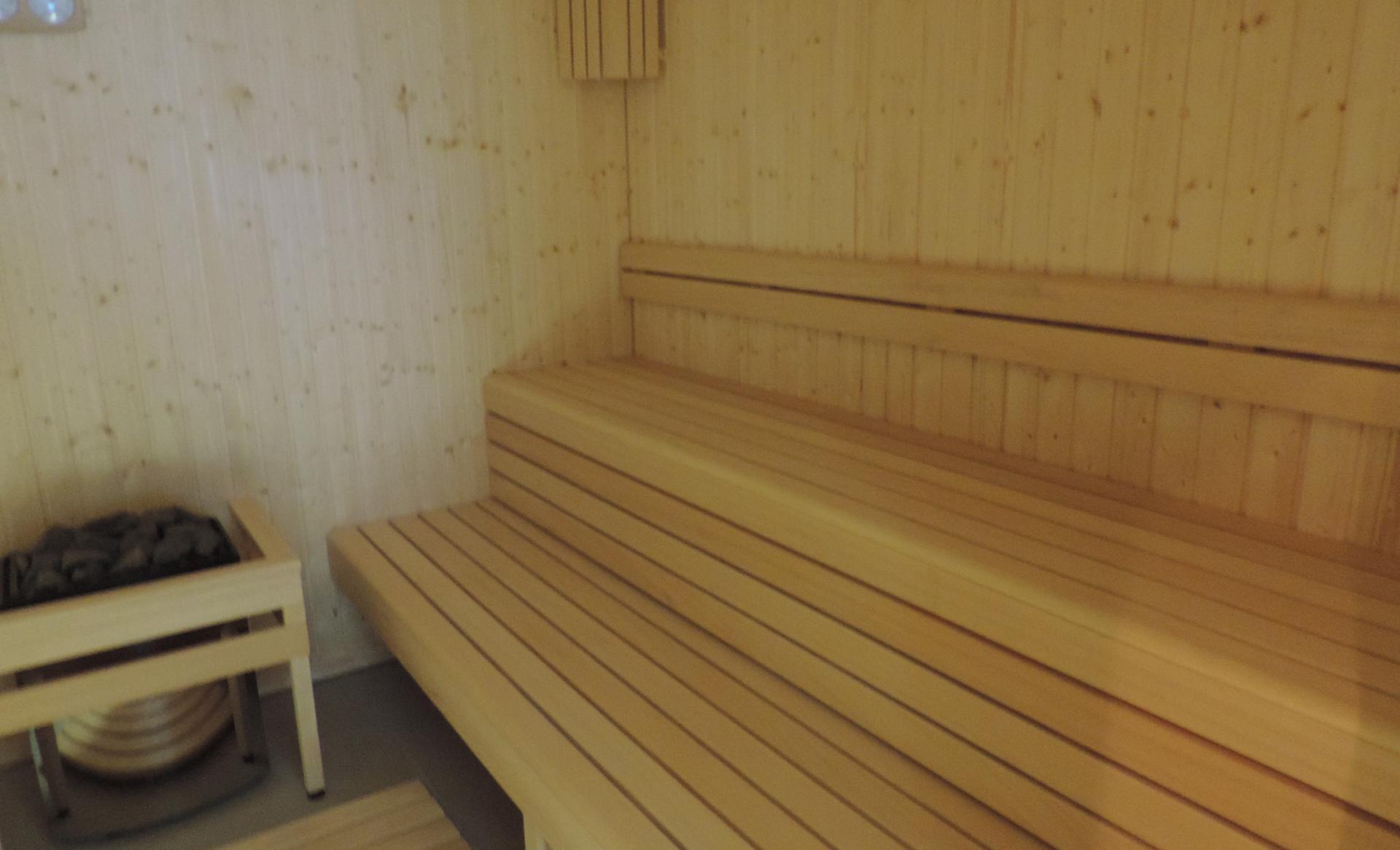 łąwka w saunie