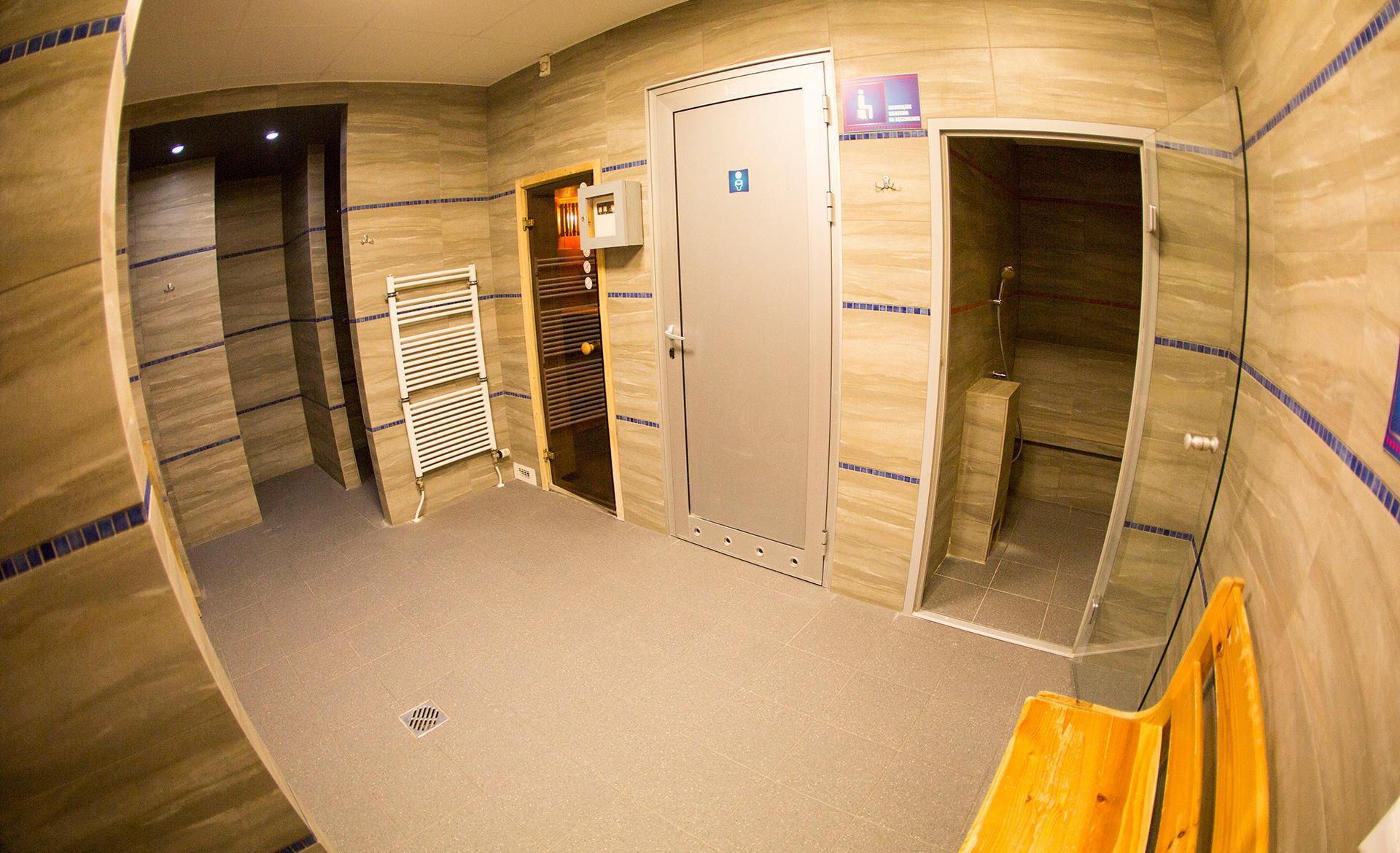 wejście do saun